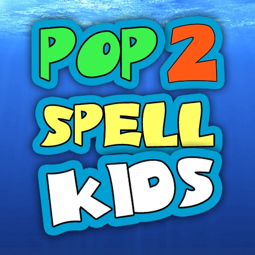 Pop2Spell-Kids HD iOS App