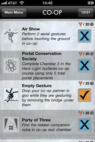 Portal 2 Unlocks screenshot 3
