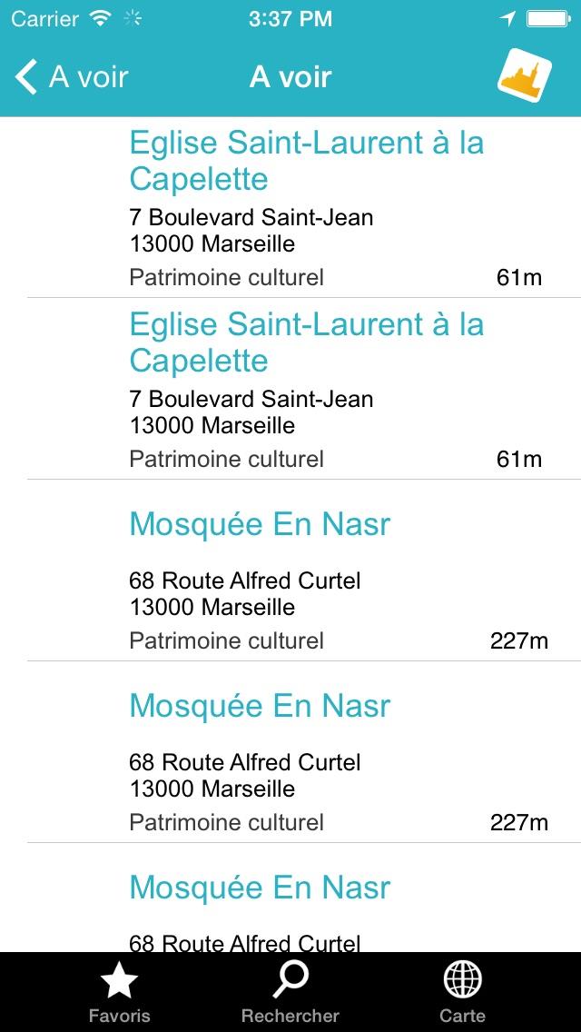 Click 'n Visit - Marseille CalanquesCapture d'écran de 3
