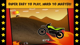 Screenshots of Motorcycle Bike Race Fire Chase Game - Pro Top Racing Edition for iPhone