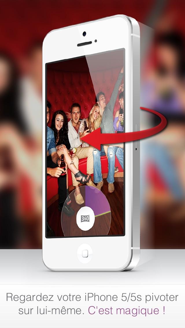 Twister - La meilleure application photo, vidéo et photo panoramique à 360°Capture d'écran de 1