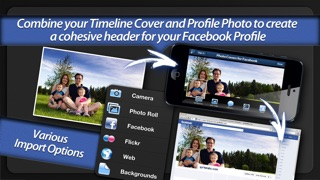 Screenshot #6 for Photo Covers for Facebook: Timeline Editor