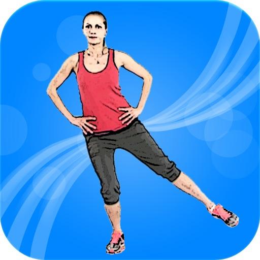 美女腿部锻炼