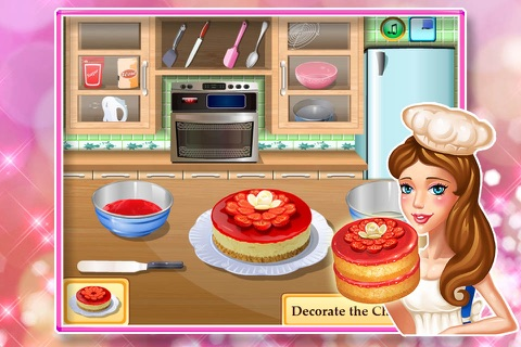 Baby cooking games:cheesecake screenshot 4