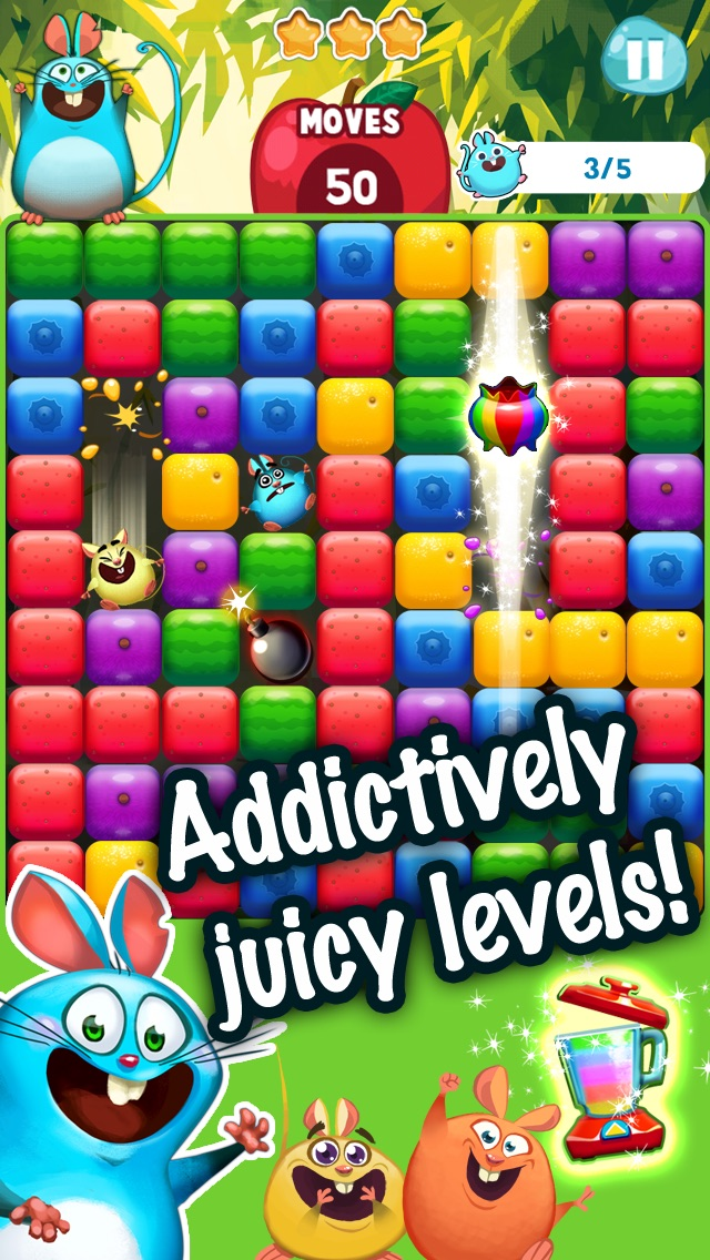 Screenshots of Fruit Mania™ for iPhone