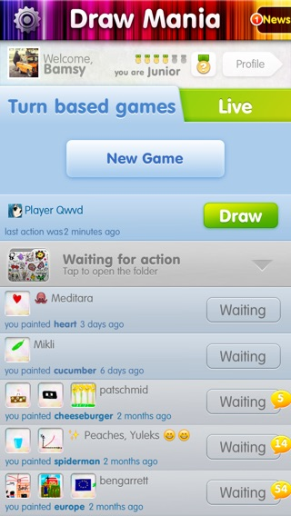 Draw Mania (ex Charadium) Screenshot