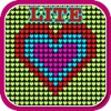Glow Neon Heart Lights Lite App gratuita per iPhone / iPad