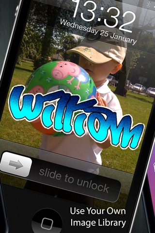 Graffiti Tag Creator - Custom Wallpapers/Backgrounds, Lock Screen & Home Screens screenshot 3