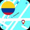 Colombia Offline Mapa