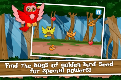 The Flippy Flappy Floppy Owl - A Tap Flap and Fly Bird Game screenshot 4