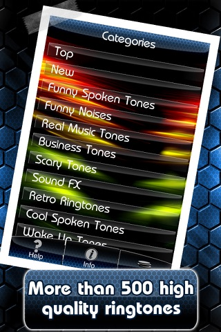 Deluxe Ringtones screenshot 2