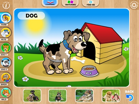 Abby Farm Animals Preschool and Toddler screenshot 1