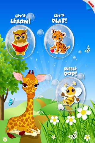 Abby Monkey® Baby Bubble Activity School: Educational Flash Cards Kids Learning Games for Toddlers and Preschool Explorers screenshot 3