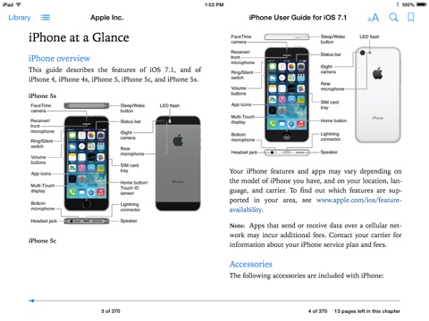 IPHONE 6s USER MANUAL - Official Apple Support