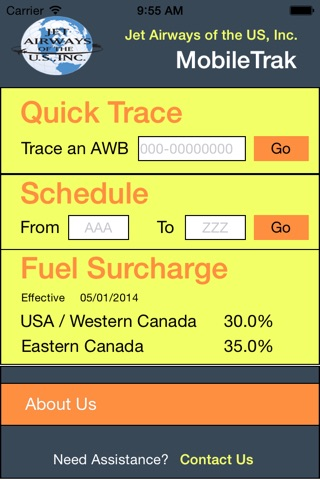 MobileTrak screenshot 1
