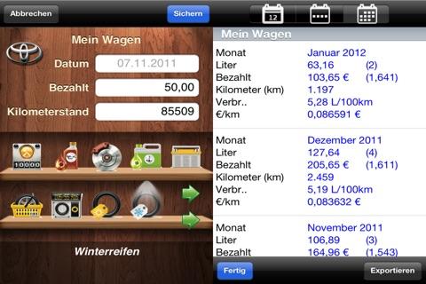 myFuelLog Lite screenshot 3