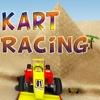 Kart Racing 3D - Best Desert Car Racer Chaser Action Game
