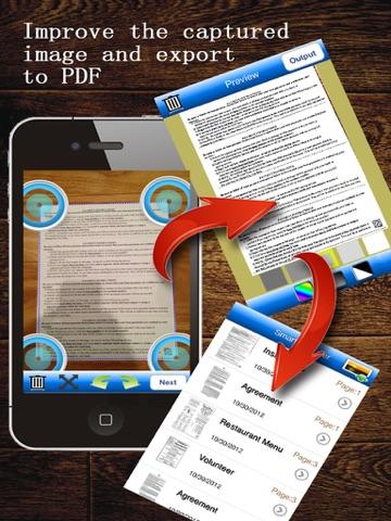 MyScan HD: scan document into PDFs screenshot 2