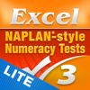 Excel NAPLAN*-style Year 3 Numeracy Tests Lite
