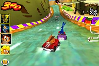 Screenshots of Crash Bandicoot Nitro Kart 3D for iPhone