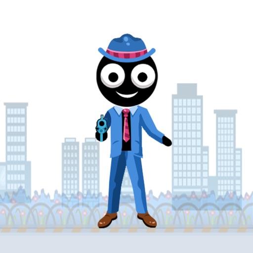 Bankster Bang: A Adrenaline Stickman Shooting Game iOS App