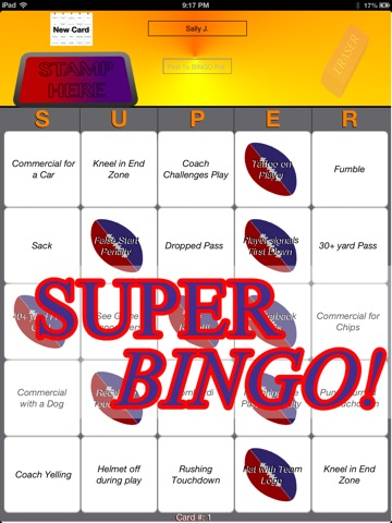 Super Bingo! screenshot 4