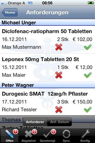 Medikamenten Freigabe screenshot 3