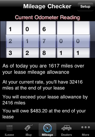 iLeaseMyCar Pro Loan and Lease Calculator screenshot 4