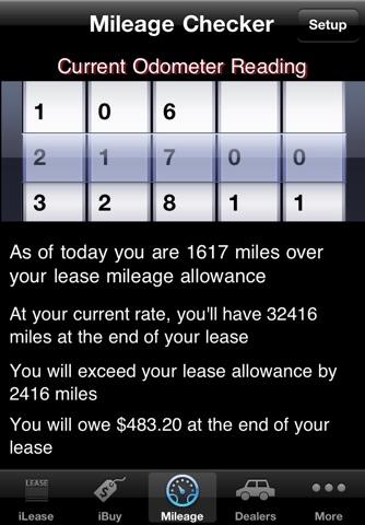 iLeaseMyCar Pro Loan and Lease Calculator screenshot 4