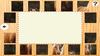 Animée de Puzzle Avec des Poneys et Chevaux Haflinger - Jeu Gratuit Du Plaisir Pour des enfants, Filles, Garçons et Toute la FamilleCapture d'écran de 3