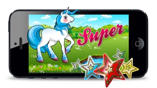 Screenshot von Pretty Little Pony Spiel - My Fun Nette Jumping Ausgabe2