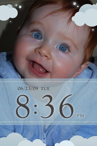 My Baby Clock screenshot 1