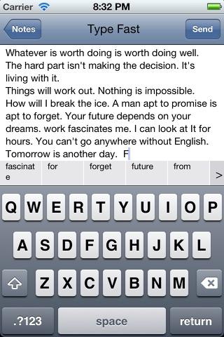 Type Fast Lite screenshot 4