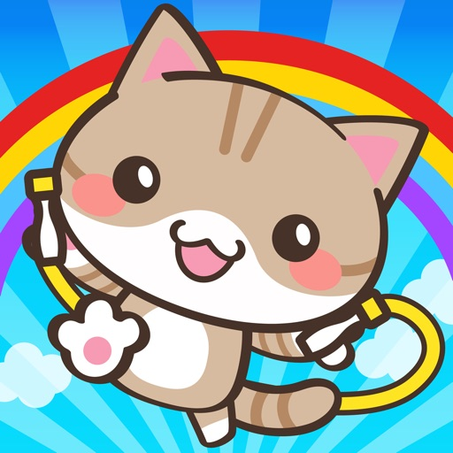 Jump Rope Kitten:Nyawatobi iOS App