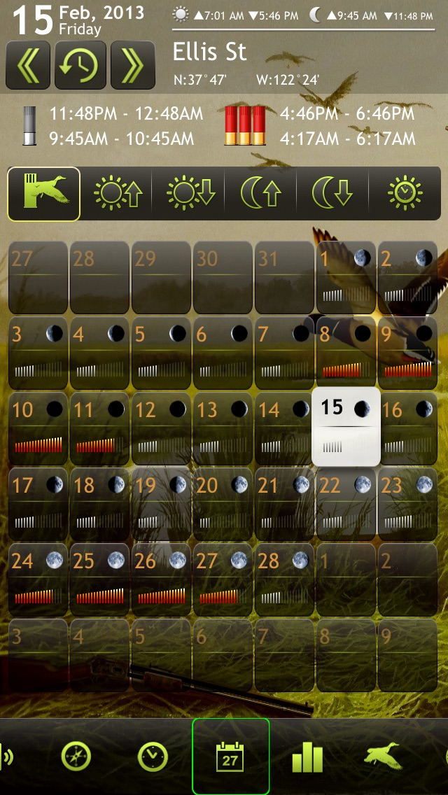 Screenshot #7 for Duck Hunting Deluxe