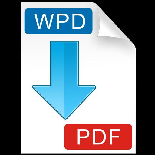 WPD to PDF