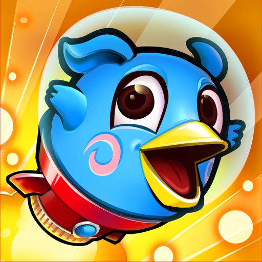 Rocket Fly - Super Hero Jump to the Sky iOS App