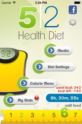 5:2 Health Diet App screenshot 1