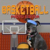 Basketball Player Insta Dress Up Photo Editor - Fun picture effects for posts sharing on Instagram, Facebook, Twitter, and email
