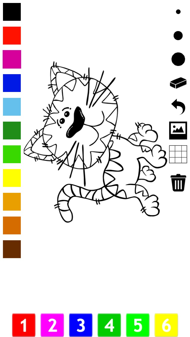download A Coloring Book for Little Children: Learn to draw and color cat and kittens apps 3