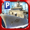 Navy Boat Parking Simulator Game - Real Army Sailing Driving Test Run Park Sim Games