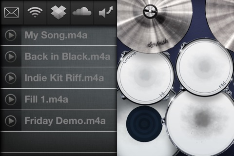Drums! - A studio quality drum kit in your pocket screenshot 4