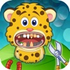 Animal Vet Clinic: Crazy Dentist Office for Moose, Panther - Dental Surgery Games