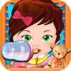 My New Baby Salon Doctor - mommy's little newborn spa & pregnant born care games for kids (boy & girl)