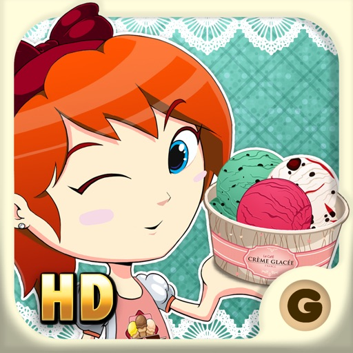 Ice Cream Friends HD for iPad - Fun Ice Cream Maker RPG Style Game for Kids and Girls - Cool Ice Cream Gelato & Sandwich Game iOS App