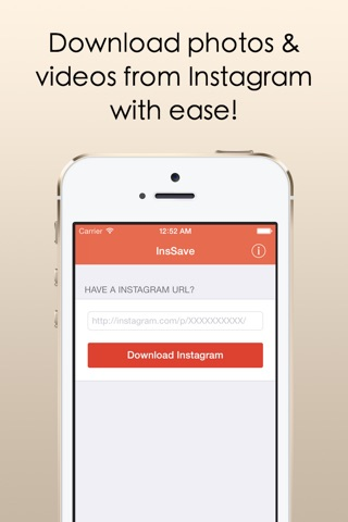 InsSave - Download & Save Photos & Videos From Instagram With Ease! screenshot 1