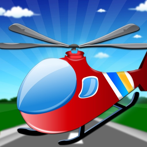 Helicopter Flight Sim - Fun playing with Chopper in this Copter Flying Simulator Game iOS App