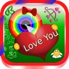 Valentine Photo Collage Art - Selfie Picture Booth with Lovely Sticker & Romatic Frames Editor