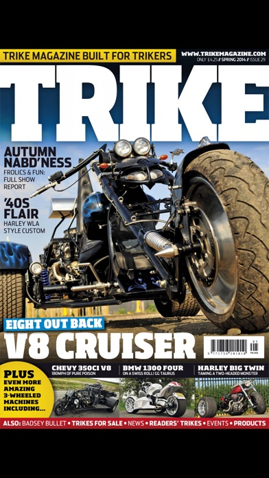 Trike Magazine screenshot1