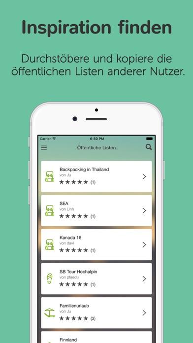 Packtor – Der Packlisten Generator | Apps für iPhone, Suchen und ...